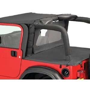97 06 Jeep Wrangler & Unlimited Black Bikini Top NEW: Automotive