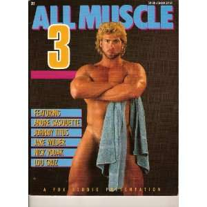 All Muscle 3 magazine (Muscled Male Models, Andre