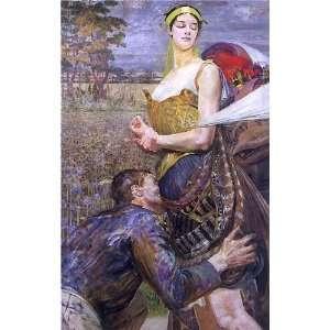 FRAMED oil paintings   Jacek Malczewski   24 x 38 inches   Polonia