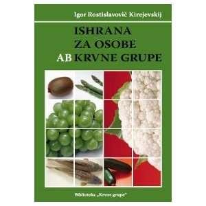 Ishrana za osobe AB krvne grupe Igor Rastislavovic Kirejevskij