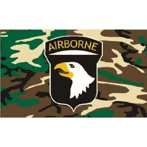 Lot 100 pc Case U.S. Army 101st Airborne Division Camo Flags 3x5ft