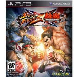 New   Street Fighter x Tekken PS3 by Capcom   34045: Video
