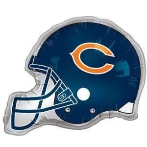 Chicago Bears   Helmet Jumbo Foil Balloon