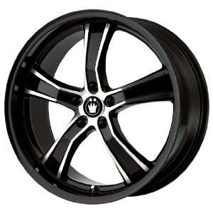 Konig Airstrike Gloss Black Machined Wheel (20x10.5/5x114
