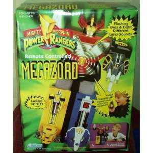 Megazord Remote Controlled MMPR Electronic Action Figure