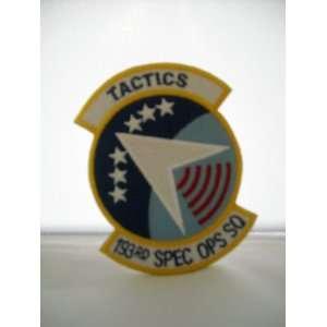 US Air Force SSI Tactics 193rd Spec. Ops SQ Patch
