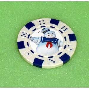 Ghostbusters STAY PUFT MAN Las Vegas Casino Poker Chip