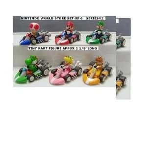 Nintendo World Store Super Mario Kart Figure Set of 6