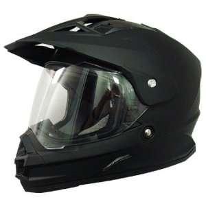 AFX FX 39 Dual Sport Motorcycle Helmet Flat Black XXXL 3XL