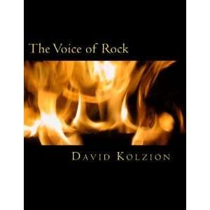he Voice of Rock (9781477594131) David Kolzion Books