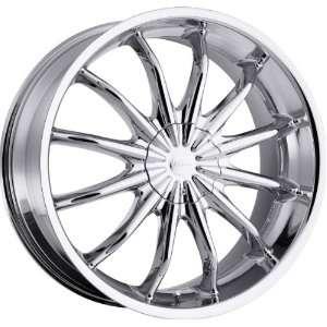 Baron 5x115 5x120 +15mm Chrome Wheels Rims Inch 22 Automotive