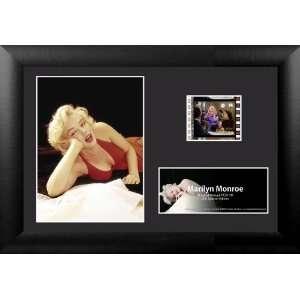 Marilyn Monroe Red Dress Mini Film Cell