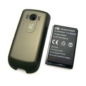 NEW MUGEN 3200mAh XL EXTENDED BATTERY + BACK DOOR FOR