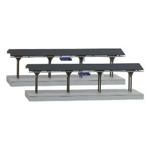 Busch 1466 Adorf Station Canopies: Toys & Games
