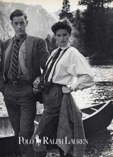 1987 Ralph Lauren Canoe Isabelle Townsend magazine ad