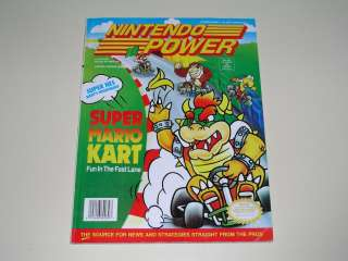 Nintendo Power Volume 41   Super Mario Kart   SNES Super