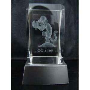 3D Laser Etched Crystal Disney Character Tiger Everything