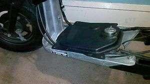 Honda Ruckus / Zoomer Black Plastic Gas Tank Cover
