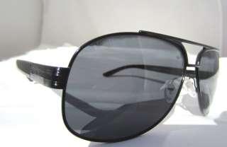 Prada Glasses Sunglasses SPR 50L 7AX 1A1 Black ITALY Authentic New