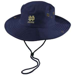 adidas Notre Dame Fighting Irish Navy Blue Safari Hat