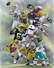 Frank Zombo Packers  giclee print on canvas B 0474