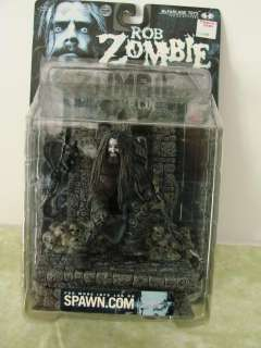 New In Box Rob Zombie Mcfarlane Figurine Action Figure Rock Metal