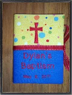 PERSONALIZED Baby Christening/Baptism Photo Album GIFT