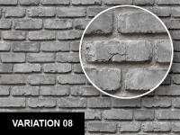 0239 Rounded Bricks Wall / Floor Texture Sheet