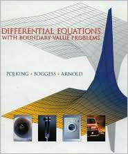 Differential Equations with Boundary Value Problems, (0130911062