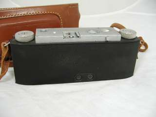 David White Stereo Realist 13.5 Camera w/Leather Case