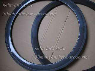 700c 50mm carbon clincher rim /carbon road bike clincher rim