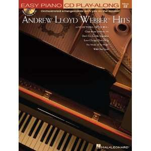 Andrew Lloyd Webber   Hits   Easy Piano CD Play Along Volume 22   Book