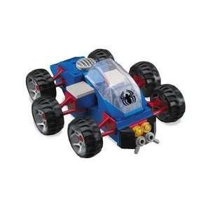 Mega Bloks Spider Man 3 Turbo Jet with Battle Damaged Red Spider Man
