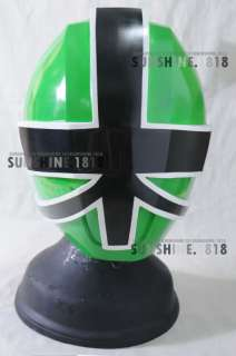 SAMURAI GREEN POWER RANGERS SHINKENGER HELMET MASK 1/1