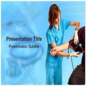 Nurse PowerPoint Template   Backgrounds PowerPoint Templates on Nurse