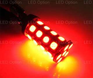 Red 30 SMD 360° 7440 7443 LED Brake Tail Lights Bulbs