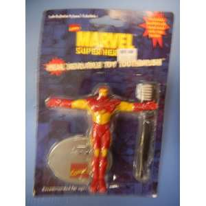 Heroes Real Bendable Toy Toothbrush Iron Man by MAS
