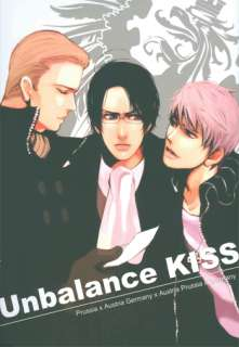 Powers doujinshi Prussia x Austria x Germany Unbalance KISS