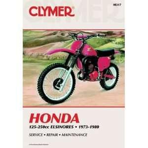 CLYMER REPAIR/SERVICE MANUAL HONDA 125 250CC ELSINORES 73
