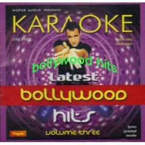 Latest Bollywood Hits Vol 3 Karaoke various Music