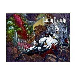 Lady Death (Ongoing) #5 Wrap Cvr: Mike Wolfer Brian Pulido