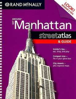 Streetwise Manhattan Map   Laminated City Street Map of Manhattan, New