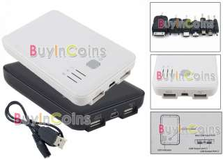 Portable Emergency Mobile Power Charger 5000mAh for Cell Phone iPhone