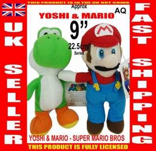 MARIO AQ COLLECTION SET   22.5 cm / 9 series SUPER MARIO BROS plush