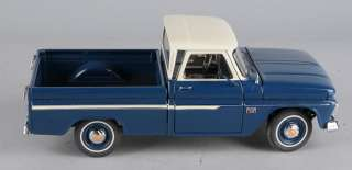 DANBURY MINT 1966 Navy Blue Chevrolet C10 Pickup Truck 8 Die Cast
