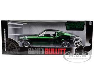 18 scale diecast model car of 1968 Ford Mustang GT Fastback Bullitt