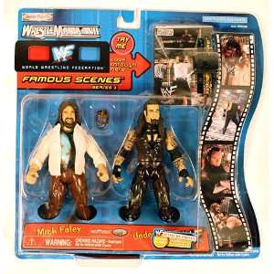 Pacific WWF WrestleMania XVII Mick Foley and Undertaker Toys & Games
