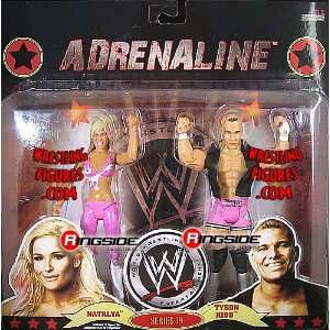 TYSON KIDD ADRENALINE 39 WWE Wrestling Action Figures: Toys & Games