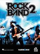 ROCK BAND 2 PIANO VOCAL GUITAR SHEET MUSIC SONG BOOK