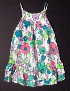 Old Navy Baby Girls Floral Print Jersey Dress Size 3 6 Months NWT
